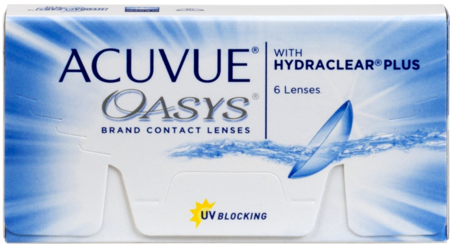 ACUVUE® OASYS® with HYDRACLEAR® PLUS 6 pack