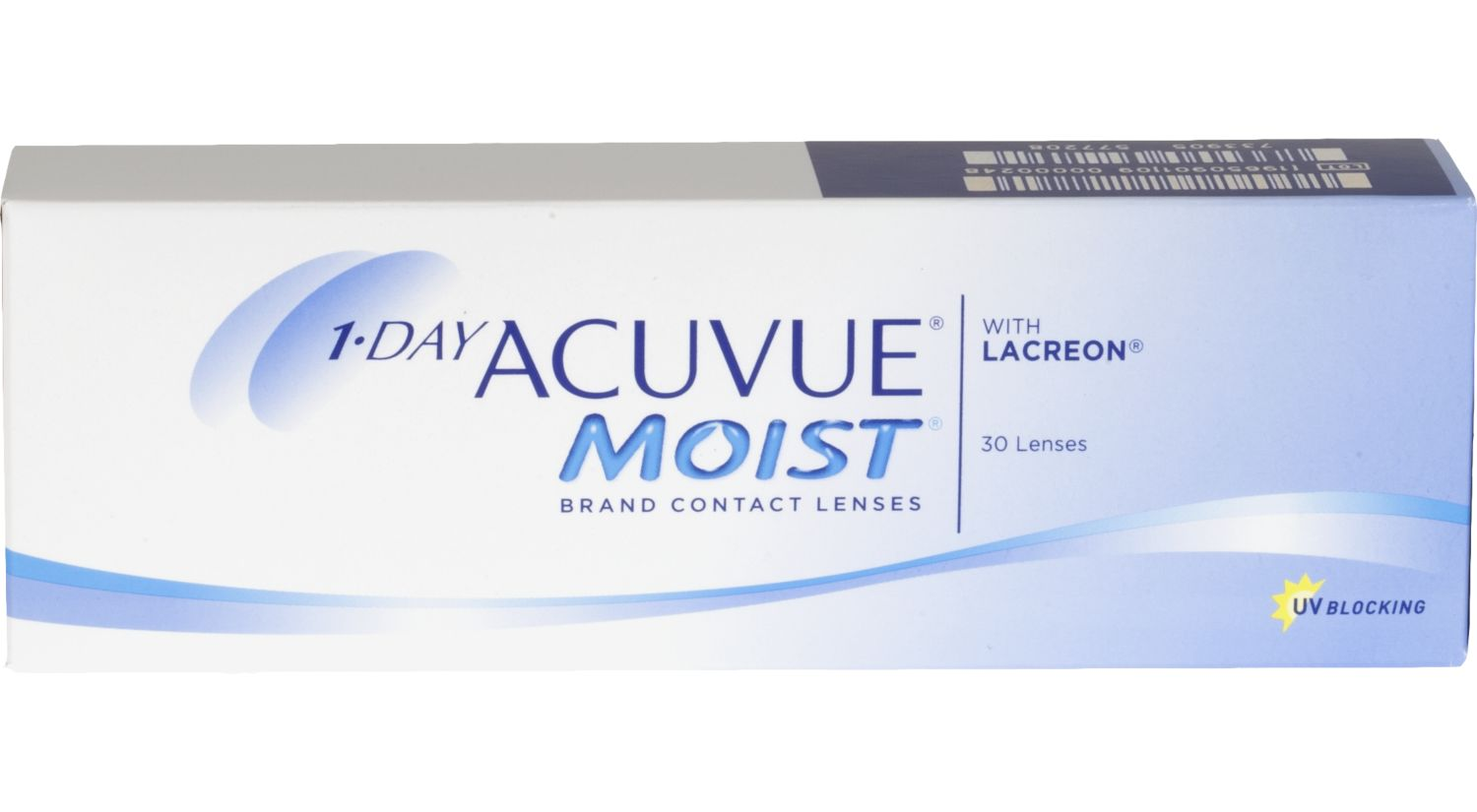 1-DAY ACUVUE® MOIST® 30 pack