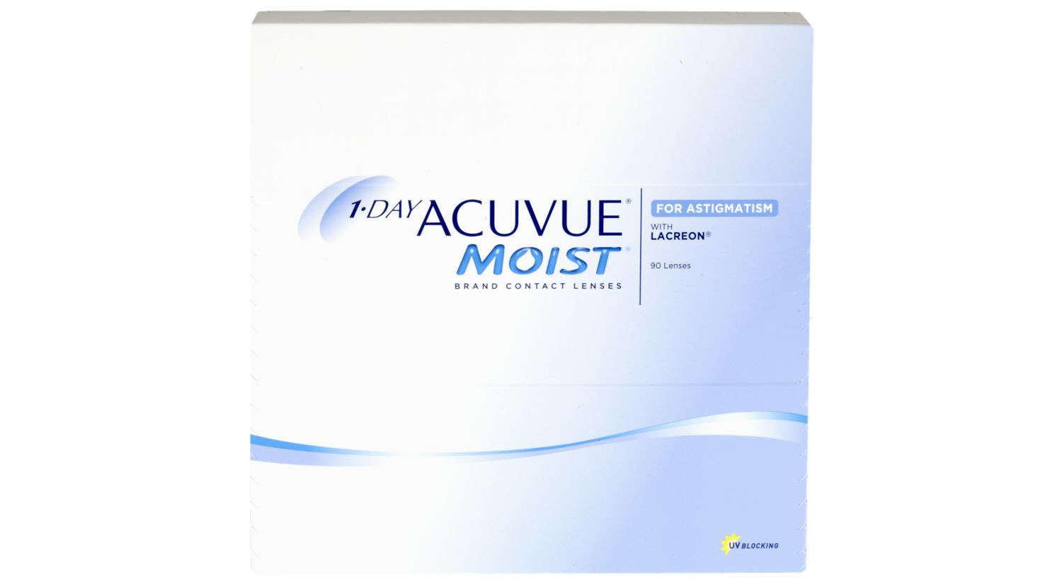 1-DAY ACUVUE® MOIST® for ASTIGMATISM 90 pack