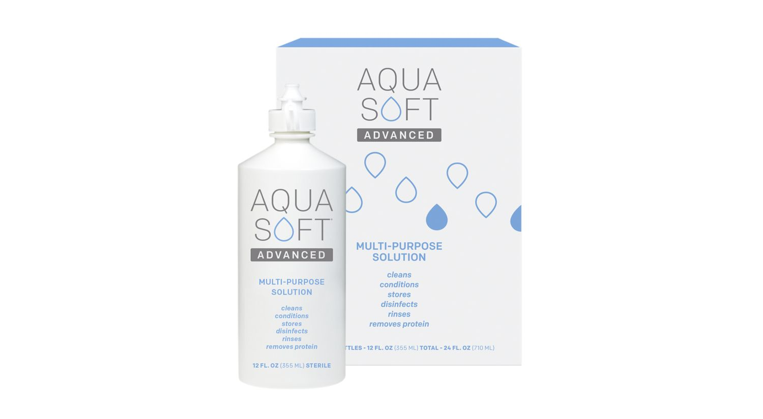 Aquasoft Advanced 2 pack