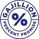 Gajillion Percent Promise