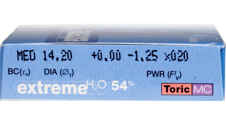 Extreme H2O 54% Toric MC