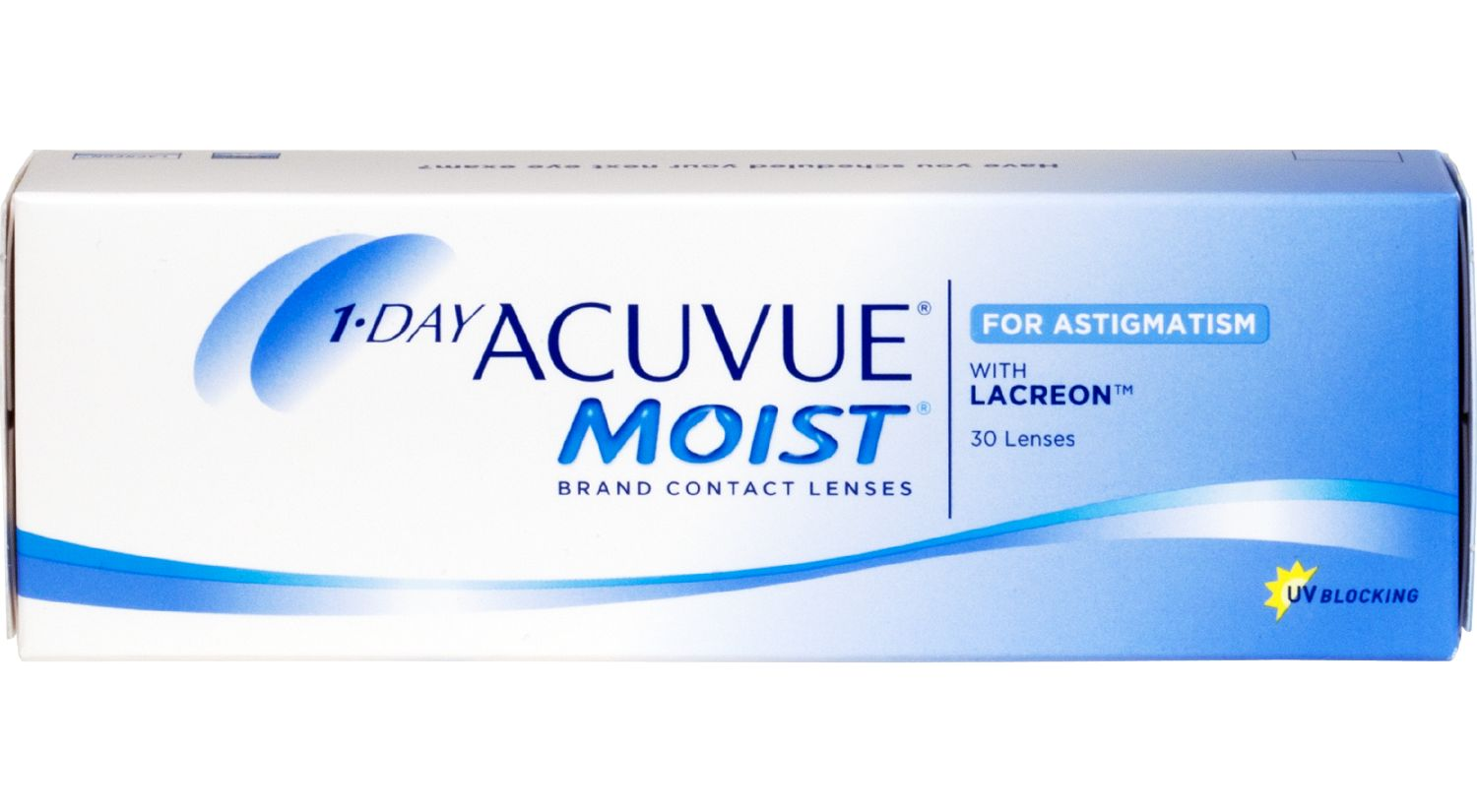 1-DAY ACUVUE® MOIST® for ASTIGMATISM 30 pack