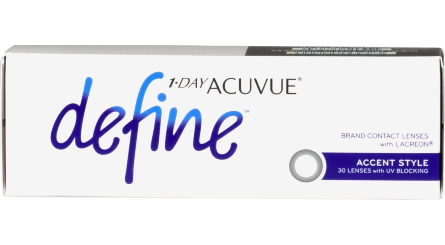 1-DAY ACUVUE® DEFINE™ 30 pack
