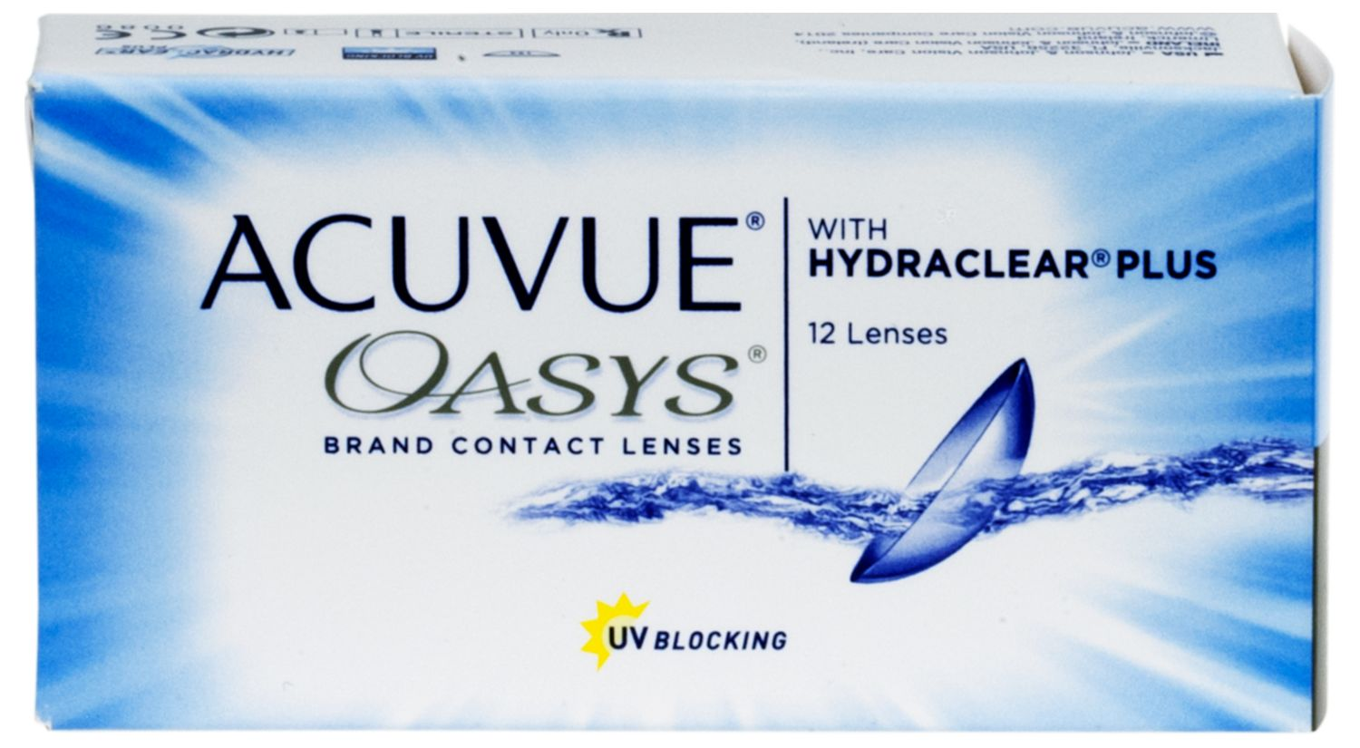 ACUVUE® OASYS® with HYDRACLEAR® PLUS 12 pack