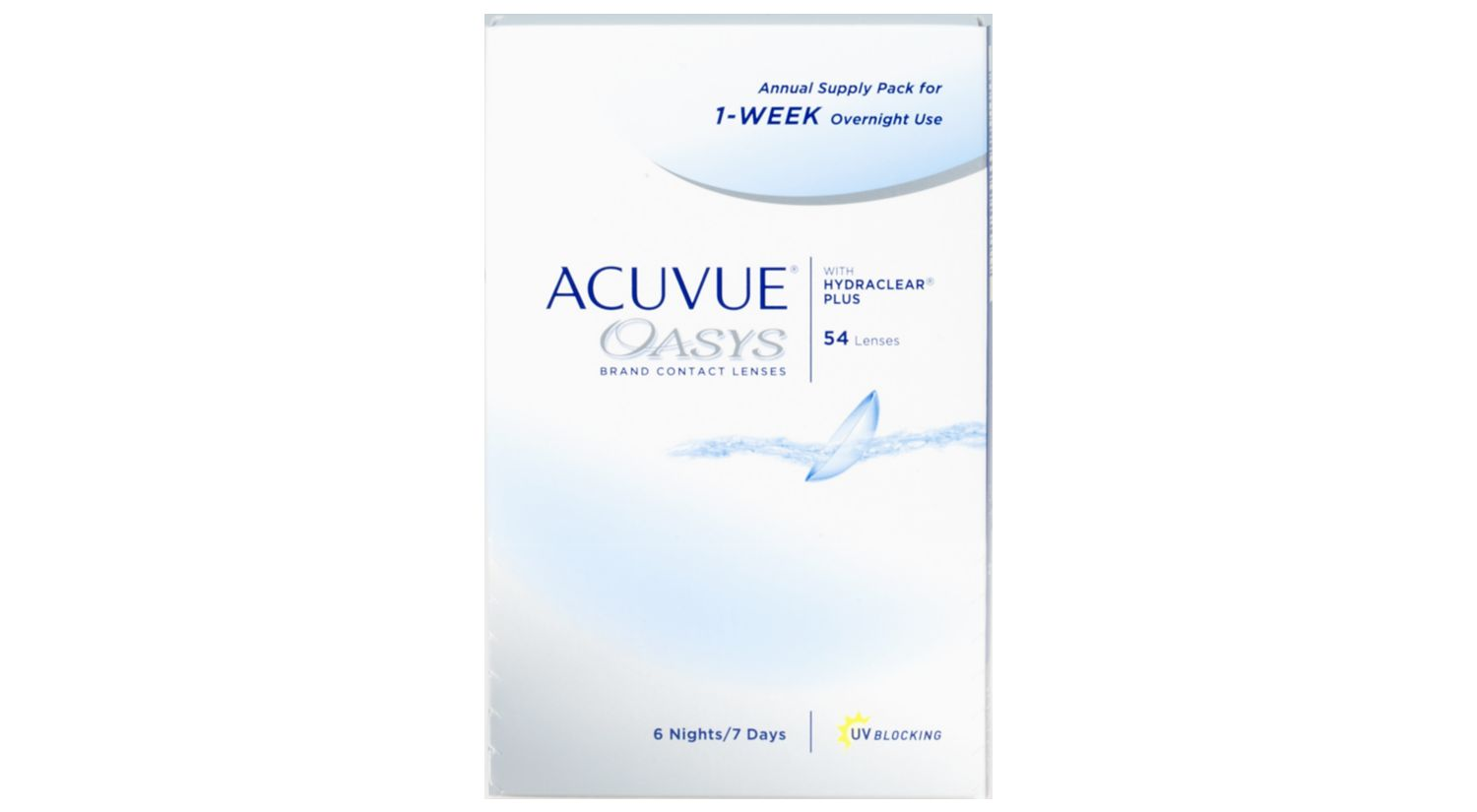 ACUVUE® OASYS® Annual Pack for Overnight Use
