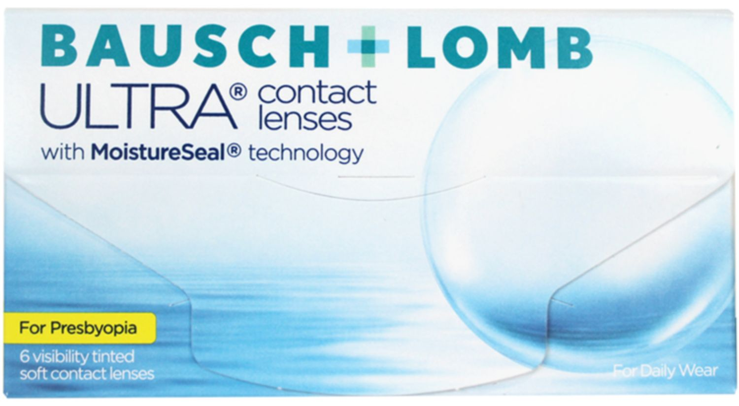 Bausch + Lomb ULTRA for Presbyopia 6 pack